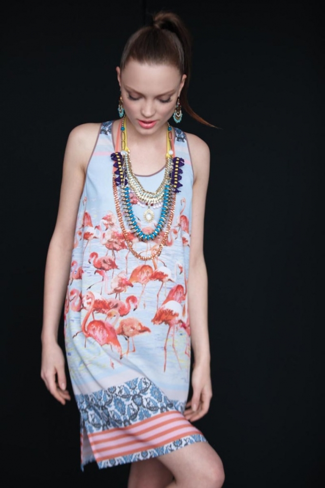 Jewelry layering by Anthropologie May 2012