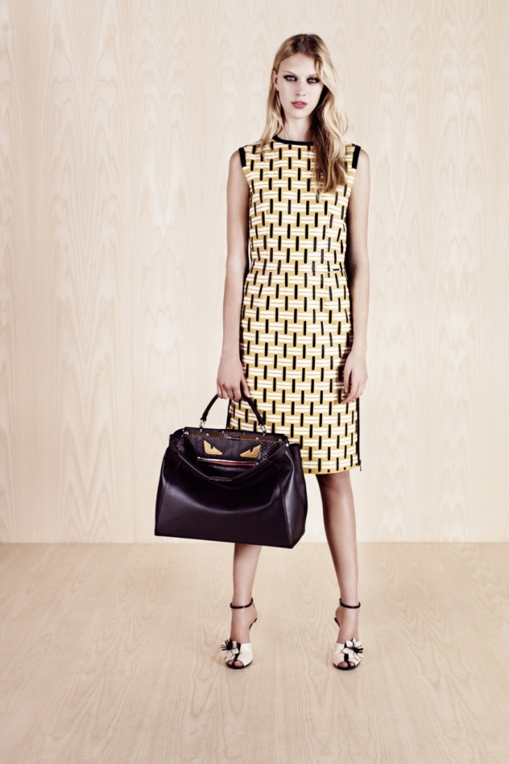 Fendi Resort 2014 (лукбук)
