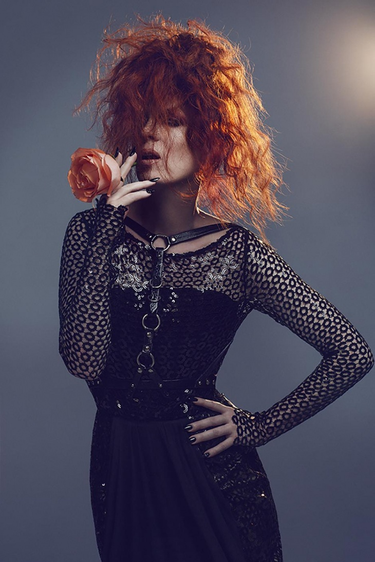 Shirley Manson by Zoey Grossman in NO TOFU MAGAZINE S '14.