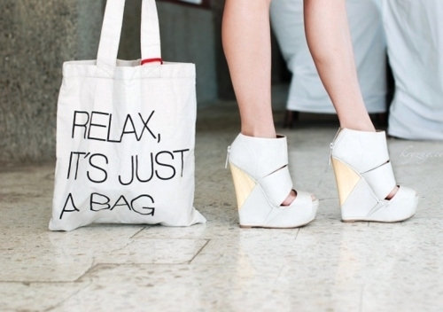 relax its just a bag