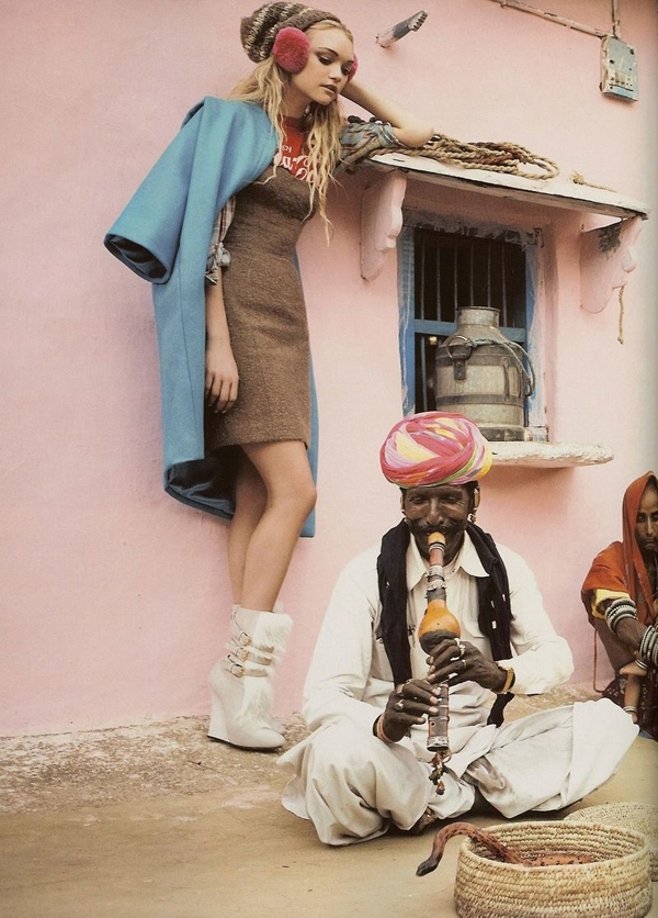 07 Vogue UK editorial featuring Gemma Ward