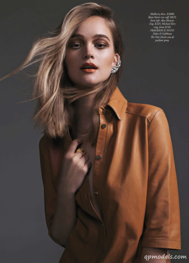 Simple Pleasure в Harper's Bazaar Australia