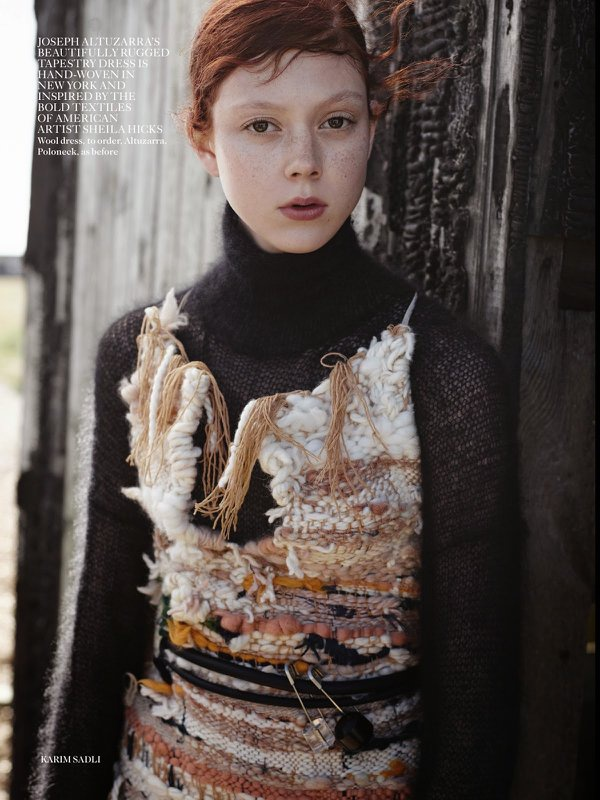 Natalie Westling by Karim Sadli for Vogue UK October 2014