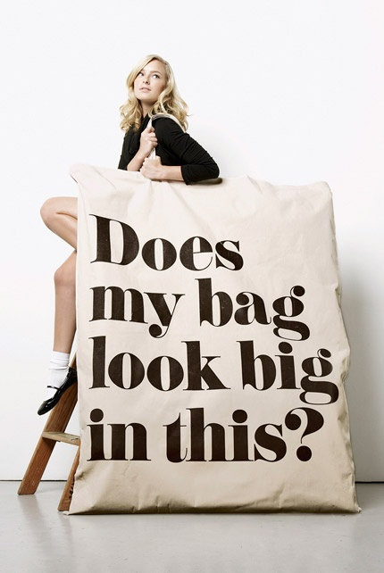 does my bag look big in this