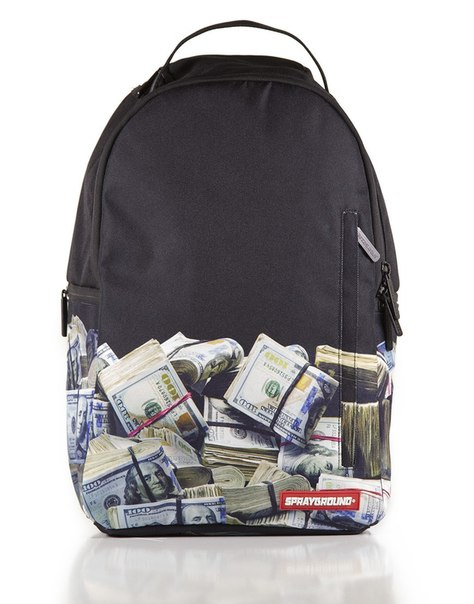Sprayground Money Rolled Backpack, $60