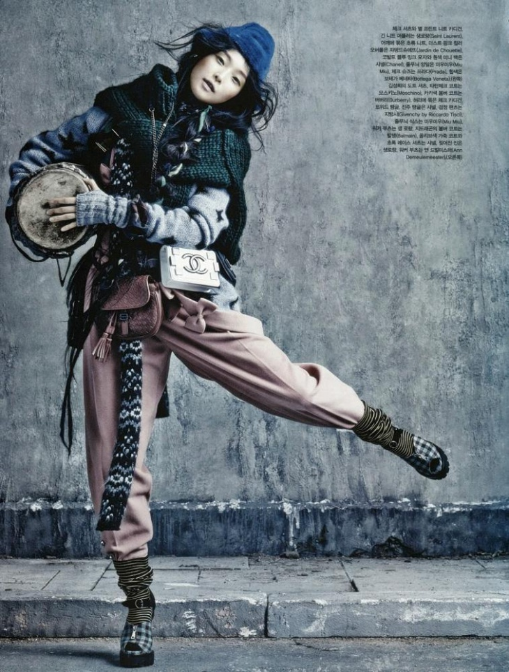 Vogue Korea August 2013